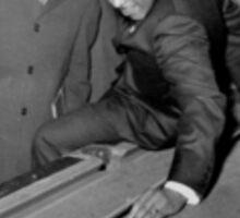 MLK Playing Pool Sticker