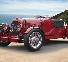 1938 Aston Martin Vintage Racecar by DaveKoontz