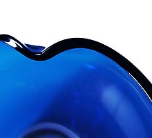 Undulations in Blue by Sally Green