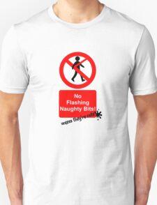 No flashing unless cute T-Shirt