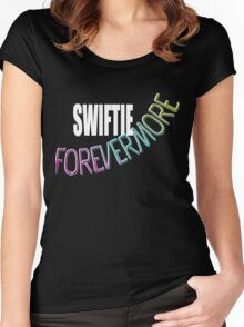 Swiftie Forevermore Women's Fitted Scoop T-Shirt