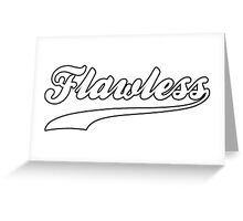 Flawless Workout Exercise Gym Greeting Card