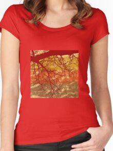 Autumn Art Women's Fitted Scoop T-Shirt