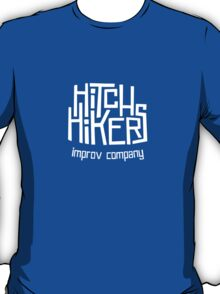 Hitchhikers Improv (Retro White) T-Shirt