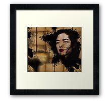 Inked Girl! Framed Print