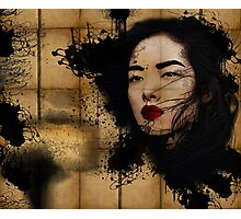Inked Girl! Photographic Print