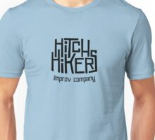Hitchhikers Improv (Retro Black) Unisex T-Shirt