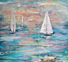 Sailing Away 1 by Janis Lee Colon