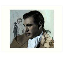 Gary Cooper Art Print