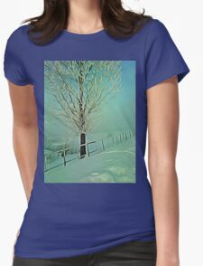 winter morning 2 Womens Fitted T-Shirt