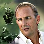 Kevin Costner by Dulcina