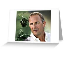 Kevin Costner Greeting Card