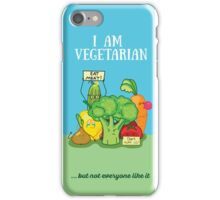 Angry vegetables iPhone Case/Skin