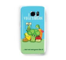 Angry vegetables Samsung Galaxy Case/Skin