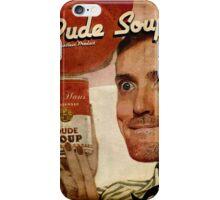 Dude Soup - Funhaus - James iPhone Case/Skin