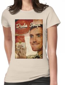 Dude Soup - Funhaus - James Womens Fitted T-Shirt