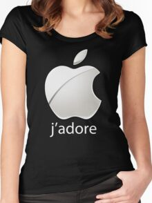 J'adore Women's Fitted Scoop T-Shirt
