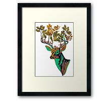 Back to the wood Framed Print
