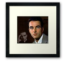 Montgomery Clift Framed Print