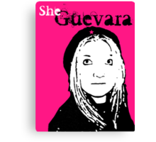 She Guevara Canvas Print