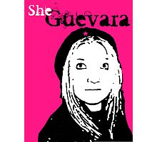 She Guevara Photographic Print
