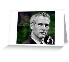 Paul Newman Greeting Card