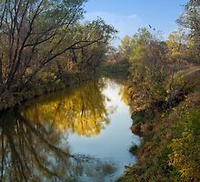 Rush River Reflections by Rick Stockwell