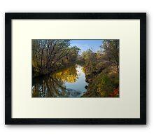 Rush River Reflections Framed Print