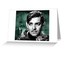 Clark Gable Greeting Card