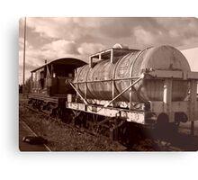 Derelict Engine Metal Print