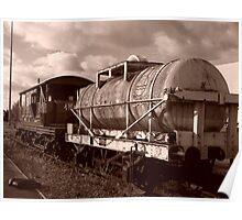 Derelict Engine Poster