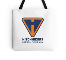 Hitchhikers Improv (Navy & Orange) Tote Bag