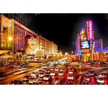 Vegas Nights Photographic Print