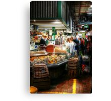 Cheese 44 at Adelaide Central Market Canvas Print