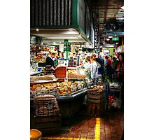 Cheese 44 at Adelaide Central Market Photographic Print