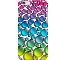 wet surface drops by changing, reflecting the rainbow iPhone Case/Skin