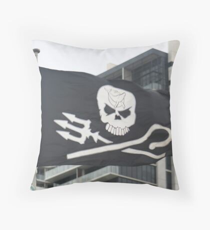 Ship Ahoy! Throw Pillow