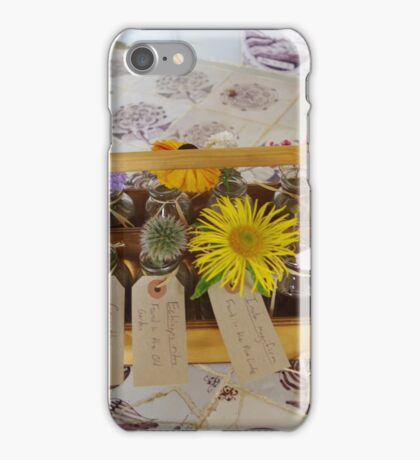 box of flowers iPhone Case/Skin