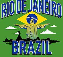 Rio De Janerio, Brazil: Christ Reedemer by seizethejay