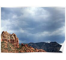 Storms Over Sedona #1 Poster