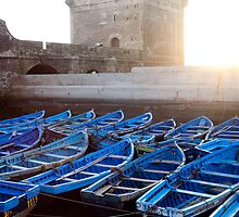 LINED UP- Essaouira, Morocco by Andrianne