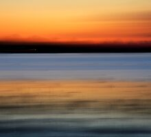 Lakeside Sunset 2 by Vince Russell