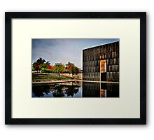 Solemn Reflections Framed Print