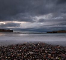 Eyemouth Harbour by Nigel Bangert