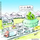 Martians Living Green by Londons Times Cartoons by Rick  London