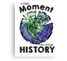 Change History Canvas Print
