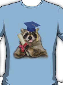 Graduation Raccoon T-Shirt