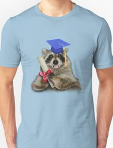 Graduation Raccoon T-Shirt