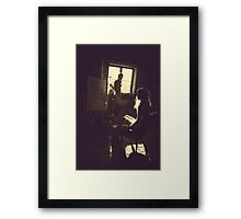 The artist loft Framed Print