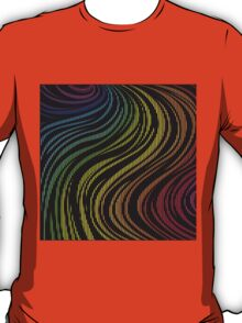 zebra rainbow color T-Shirt